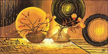 Golden Beam Kunsttryk