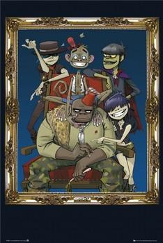 Gorillaz - frame Plakat