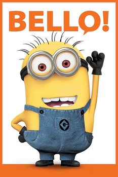 Grusomme mig 2 - Despicable Me 2 - Bello Plakat