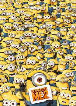 Grusomme mig 2 (Despicable Me 2) - Many Minions Plakat