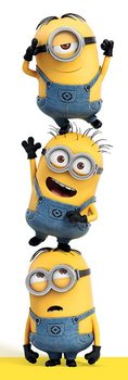 Grusomme mig - Despicable Me - 3 Minions Plakat