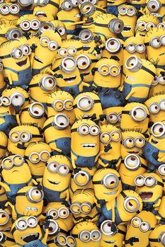 Grusomme mig (Despicable Me) - Many Minions Plakat