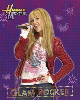 HANNAH MONTANA - glam rocker Plakat