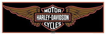 Harley Davidson - wings  Plakat
