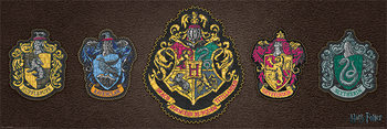 Harry Potter - Crests Plakat