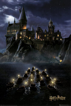 Plakat Harry Potter - Hogwarts