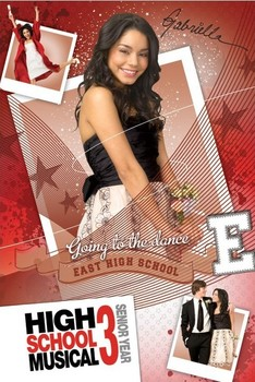 HIGH SCHOOL MUSICAL 3 - gabriella Plakat