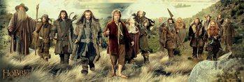 Hobbitten - cast Plakat