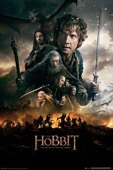 Plakat Hobbitten: Femhæreslaget