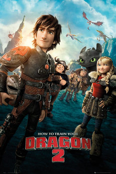 How to Train Your Dragon 2 - One Sheet Plakat