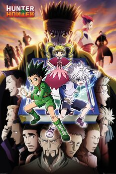 Plakat Hunter X Hunter - Book Key Art