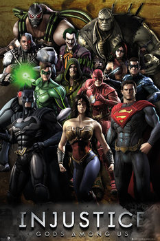 INJUSTICE - group  Plakat