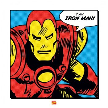 Iron Man - I Am Kunsttryk