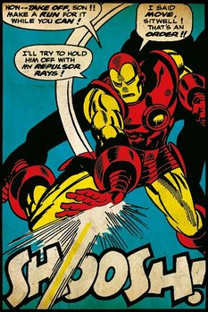 Iron Man - Shoosh Plakat