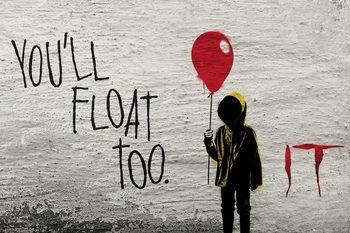 IT - Graffity Plakat