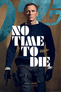 James Bond - No Time To Die Plakat