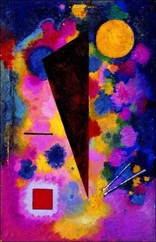 Kandinsky - Resonance Multicolore Kunsttryk