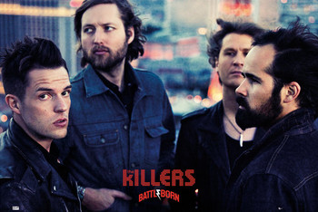 Killers - battle born Plakat