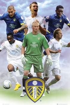Leeds - players 2010/2011 Plakat