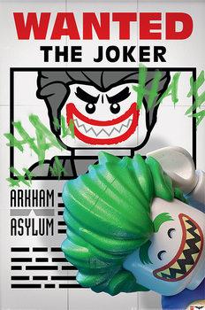 Lego Batman - Wanted The Joker Plakat
