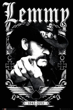Lemmy - Dates Plakater