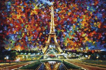Leonid Afremov - Paris Plakat