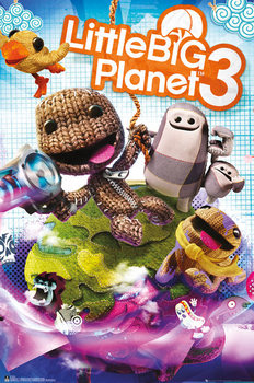 Little Big Planet 3 - Cover Plakat