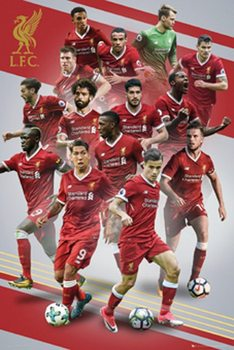 Liverpool - Players 17/18 Plakat