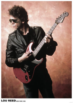 Lou Reed - New York 1983 Plakat