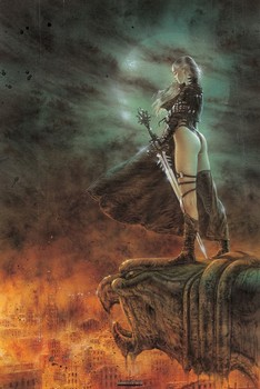 Luis Royo - the hour has arrived Plakat