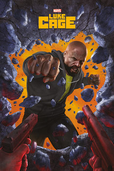 Luke Cage - Wall Break Plakat