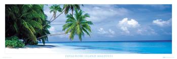 Maledives - fihalhohi island Plakat