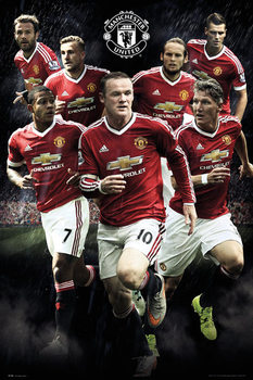 Manchester United FC - Players 15/16 Plakat