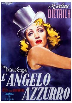 Marlene Dietrich - Der Blaue Engel Plakat