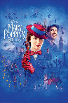 Mary Poppins Vender Tilbake - Spit Spot Plakat