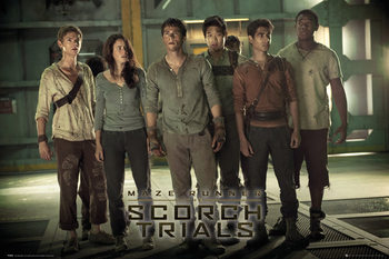 Maze Runner 2: Infernoet - Group 2 Plakat
