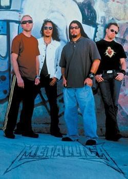 Plakat Metallica – group