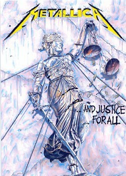 Plakat Metallica - justice for all