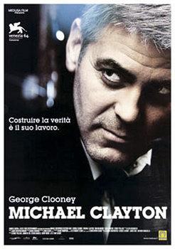 MICHAEL CLAYTON - George Clooney Plakat