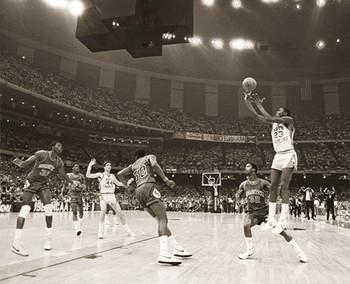 Michael Jordan - last shot Plakat