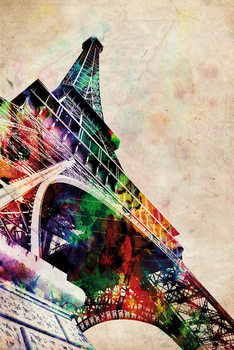 Michael Tompsett - Eiffel tower Plakat