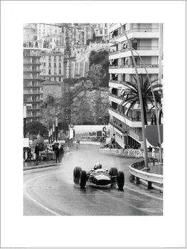 Monaco Grand Prix Kunsttryk