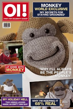 Monkey magazine Plakat