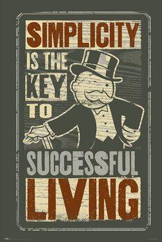Monopoly - Simplicity Plakat