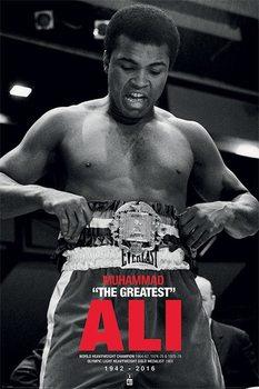 Muhammad Ali - Belt Plakater