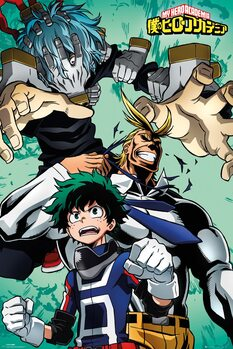 My Hero Academia - Collage Plakat
