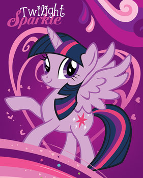 My Little Pony - Twilight Sparkle Plakat