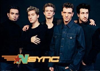 N'Sync - landscape Plakat