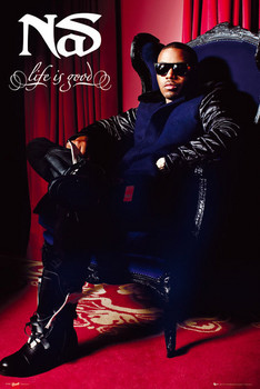 NAS - throne Plakat