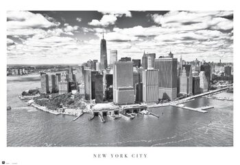 New York City - Airview Plakat